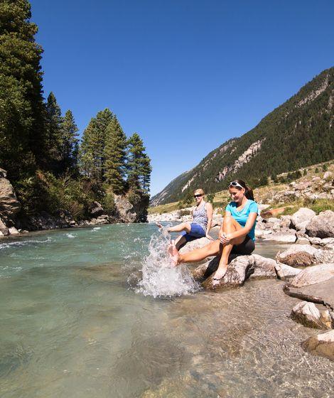 Wandern Krimmler Achental Wasserfälle ©Johannes Sautner (Zillertal Arena)